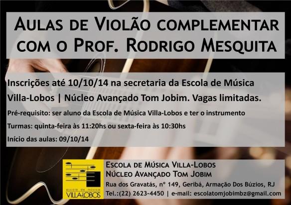 Folder Aula Complementar - Rodrigo