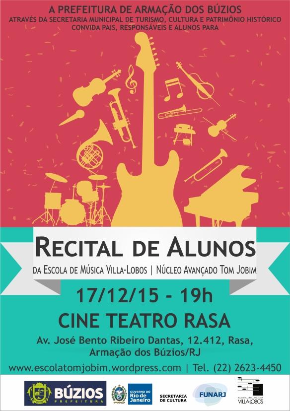 Folder - Recital de Alunos 2015